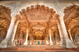 Agra fort red fort agra red fort agra india famous red for Diwan i aam images
